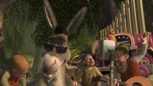 Donkey (voiced by Eddie Murphy) in Shrek the Third – 2007