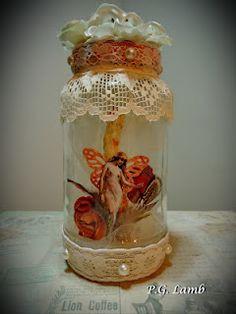 Captured Fairy Jar Sent