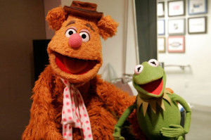 Best Friends... Fozzie The Bear and Kermit the Frog @Tina Barbato ...