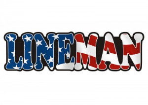 American Lineman Sticker Decal