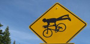 Cyclist Rorschach Test