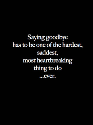 saying goodbye #heartbreak #letting go #being alone #time for me # ...