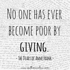 Quotes About Giving to Others