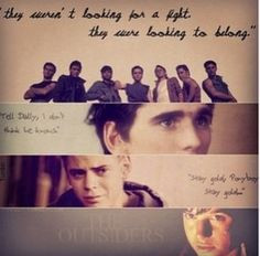 Johnny From The Outsiders Quotes ~the outsiders~ on pinterest