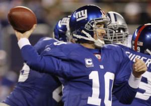 Eli Manning Interceptions...