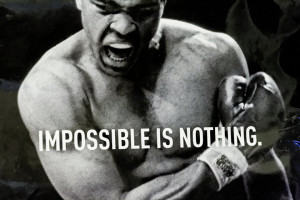 Impossible Muhammad Ali Quote Wallpapers Images Picture