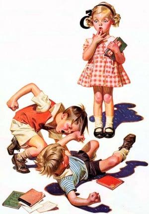 Sibling fighting - helping children break the cycle