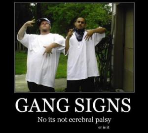 gang-signs