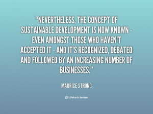 Sustainability Quotes About Life