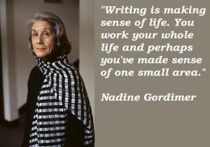 Nadine gordimer quotes 2