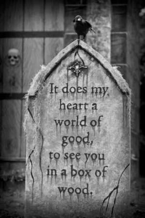 dark #quotes: Davis Graveyards, Creepy, Halloween Decor, Halloween ...
