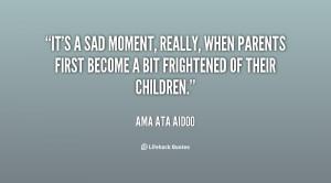 Sad Quotes About Parents Preview quote