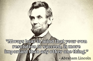 ... Abraham Lincoln. He was born on February 12, 1809 in Hodgenville