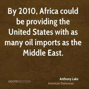Anthony Lake Quotes