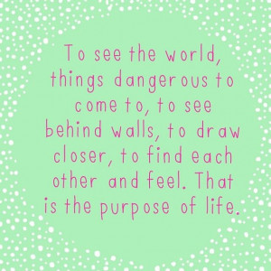 Walter Mitty Life Quote