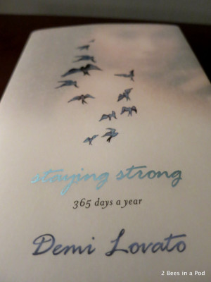 Strong Quotes For Girls Staying strong by demi