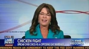 Sarah Palin on Greta Van Susteren show, referring to herself ...