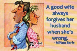 husband wife joke funny picture which is very humorous these marriage ...