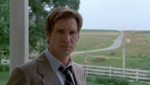 Harrison Ford as John Book