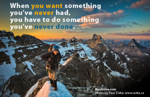 Mountain Climbing - Focus Goal