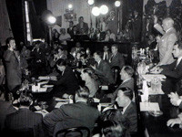 House Un-American Activities Committee in session, 1947