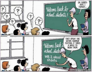 Back to School Quotes Funny