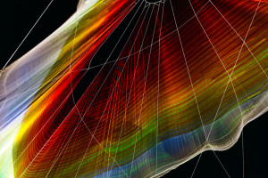 Produced by collaborators Janet Echelman and Aaron Koblin An aerial