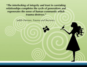 The interlocking of integrity and trust in caretaking relationships ...