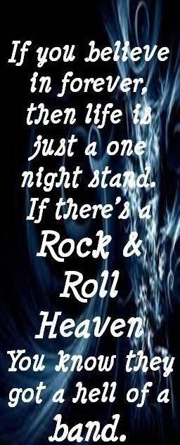 Rock & Roll heaven !