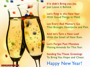 Happy New Year 2015 Wishes Messages Quotes