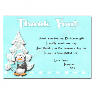 Thank For My Christmas Gift. It Really Made My Day And Thank You For ...
