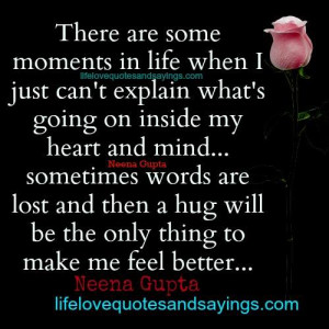 Some Moments In Life When..