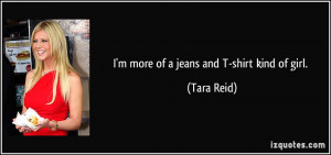 More Tara Reid Quotes