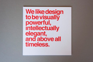 Classic Design Quotes