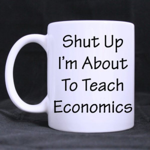Inktastic Women's Funny Economics Teacher Quote Gift Junior V-Neck T ...
