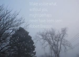Good Sunday Morning Quotes Foggy morning on black street
