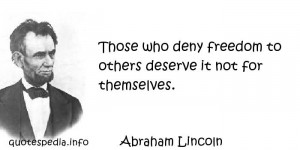 Famous quotes reflections aphorisms - Quotes About Freedom - Those who ...