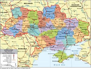 Ukraine Climate Map