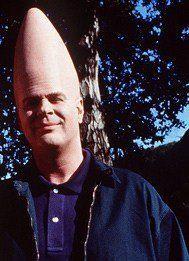 Coneheads (1993) Dan Aykroyd as Beldar Conehead / Donald R. DeCicco ...