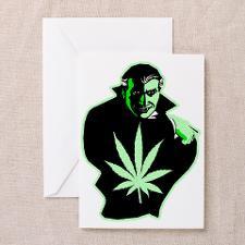 Marijuana Birthday Greeting Cards