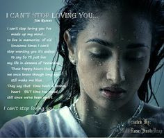 ... , English & Sinhala Lyrics, Quotes.....: I Can't Stop Loving You More