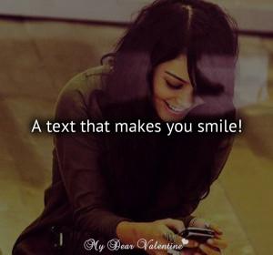 smile a text that makes you smile