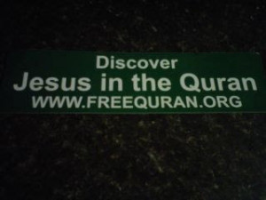 , they did not mention that the Jesus in Islam, is not the same Jesus ...