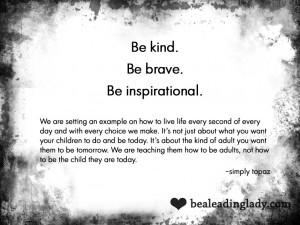 Posted on November 14, 2011 by Be a Leading Lady