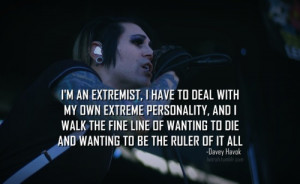 Davey Havok. This does not surprise me. (I know them feels, bro ;__;)