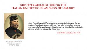 Giuseppe Garibaldi quote - Italian unification by YamaLama1986