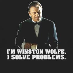 ... Shirt $18 Buy Pulp Fiction Movie Mr Winston Wolfe T Shirt $18 Buy