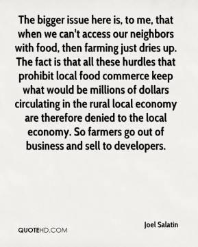 More Joel Salatin Quotes