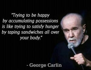 George Carlin's wisdom