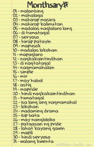 Love Letter Girlfriend Tagalog